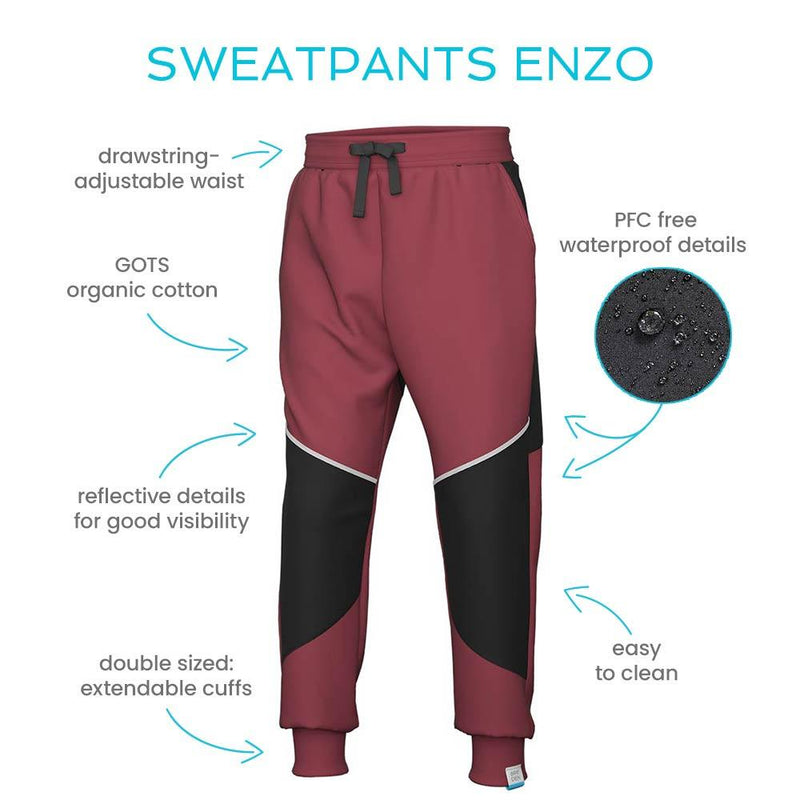 Unique kids outdoor sweats for humid ground Enzo sweatpants