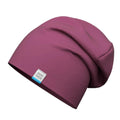 Klaus kids double cotton stretchy spring hat #color_Dark Red Beaujolais