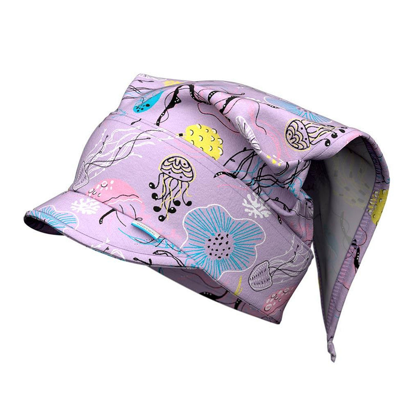 PIA innovative peaked head scarf for kids