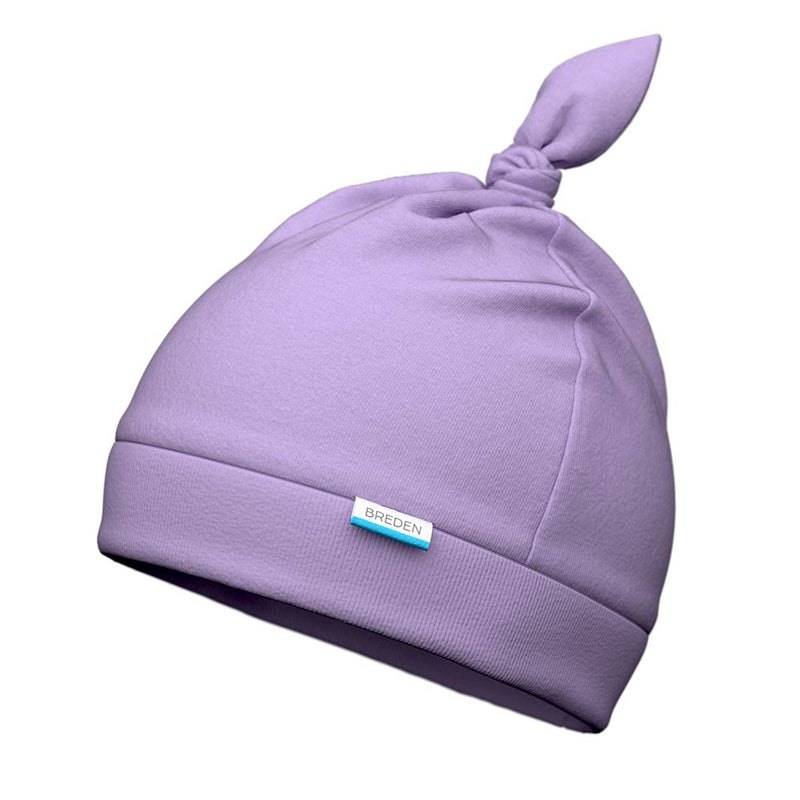 Stella adjustable light organic cotton baby hat