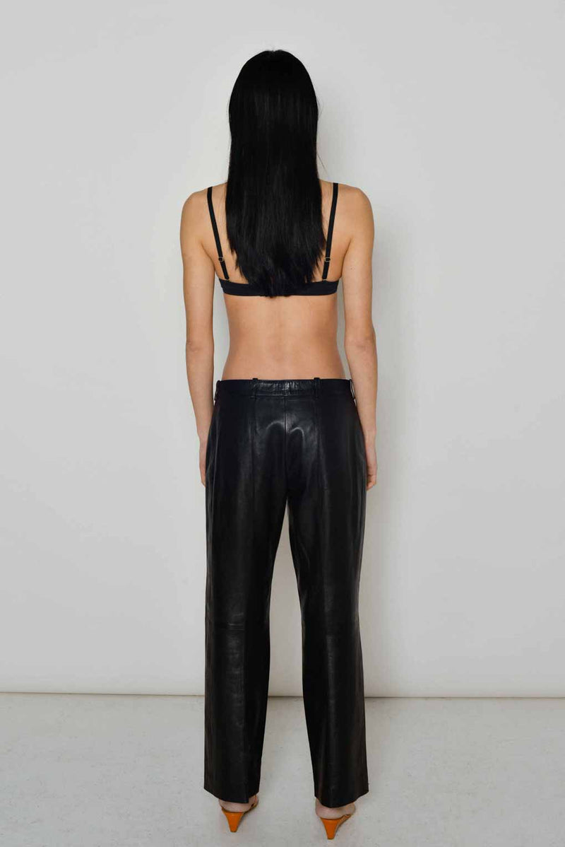 Celine | Leather Trouser