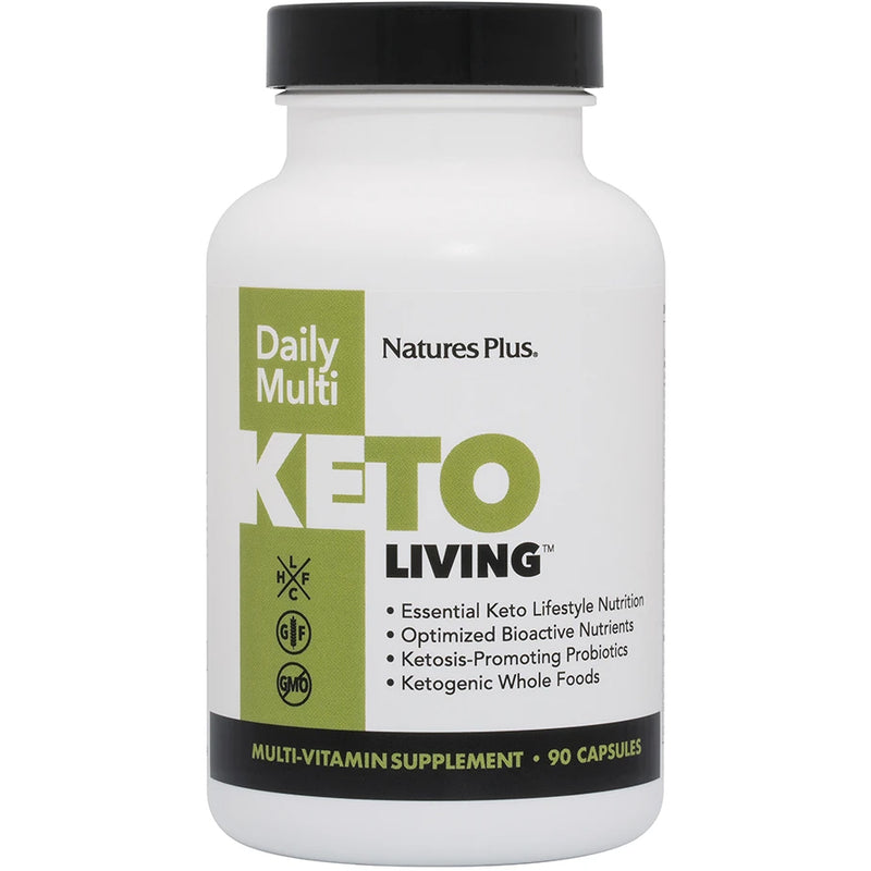 NaturesPlus KetoLiving Daily Multivitamin