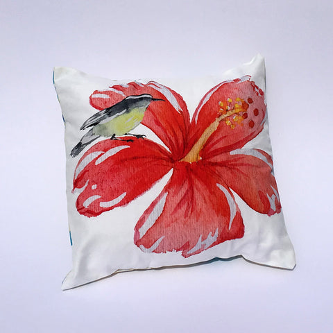 Hibiscus Pillow Cover