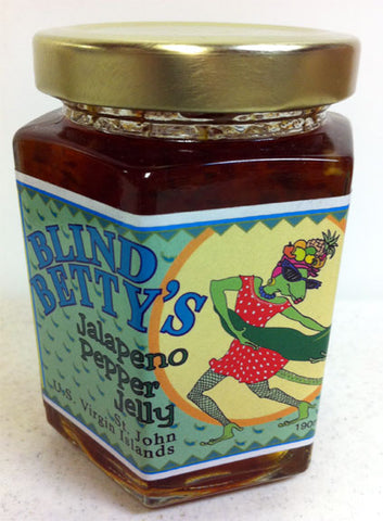 Blind Betty Jalapeno Hot Pepper Jelly