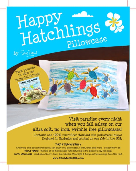 Happy Hatchlings Pillowcase