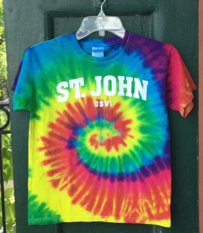 Youth Tie Dye Tee Shirt