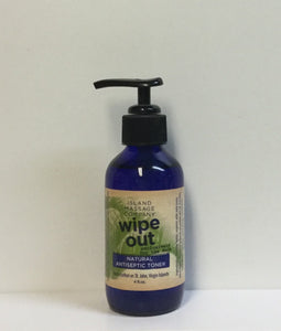 Island Massage Company- Wipe Out Natural Antiseptic Toner