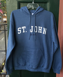 St. John USVI Hooded Sweatshirt