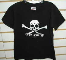 Youth Pirate Black Tee Shirt