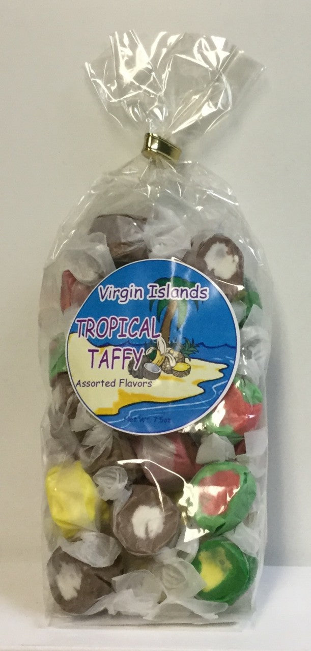Virgin Islands Salt Water Taffy Bag
