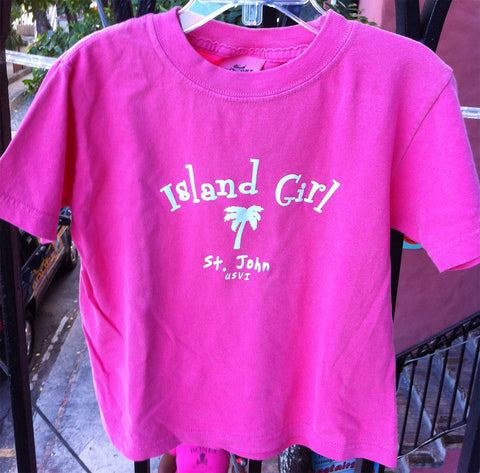 Youth Island Girl Tee Shirt