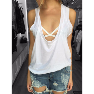Super Low Scoop Neck Tank