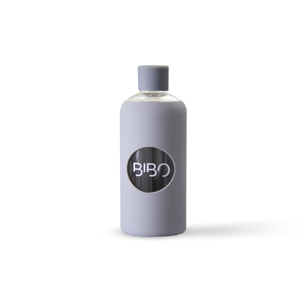 BIBO glass water bottle