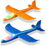 Throwing Foam Plane Led