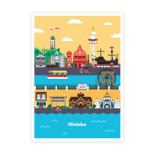 Load image into Gallery viewer, MSPS01 Malaysia Postcard Collectible Set A