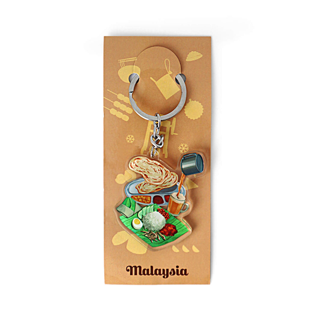 Acrylic Keychain: The Mamak Culture
