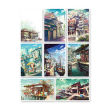Load image into Gallery viewer, Illustration postcard by FeiGiap :Vol.3