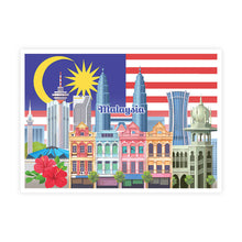 Load image into Gallery viewer, MSPS02 Malaysia Postcard Collectible Set B