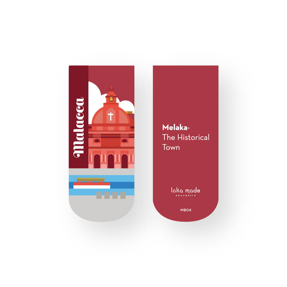 Magnet Bookmark: Malacca