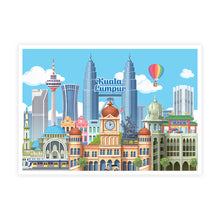 Load image into Gallery viewer, MSPS03 Malaysia Postcard Collectible Set C