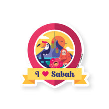 "Load image into Gallery viewer, ASS02 Adventure Seals Luggage Sticker ""Set B"""