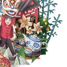 Load image into Gallery viewer, 360° 3D Greetings Card: Festive Adventures TP06