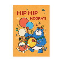 Load image into Gallery viewer, Malaysia Series Postcard: Hip Hip Hooray MSP84