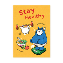 Load image into Gallery viewer, Malaysia Series Postcard: Stay Healthy MSP87