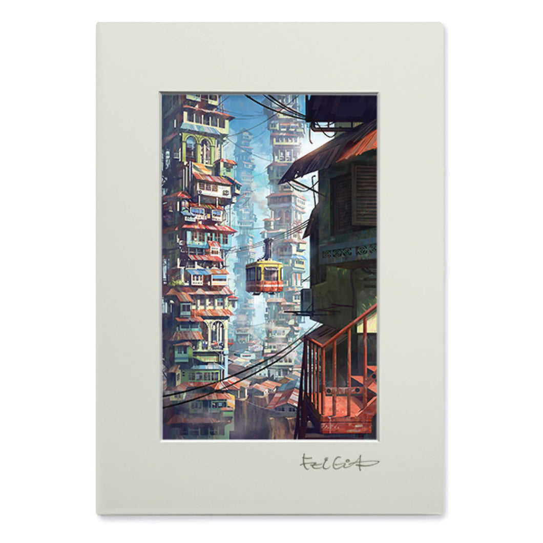 Art Frame: Cable car