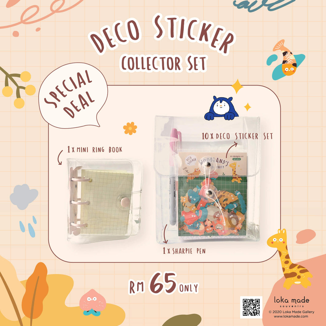 DSC01 Deco Sticker Collector Set A