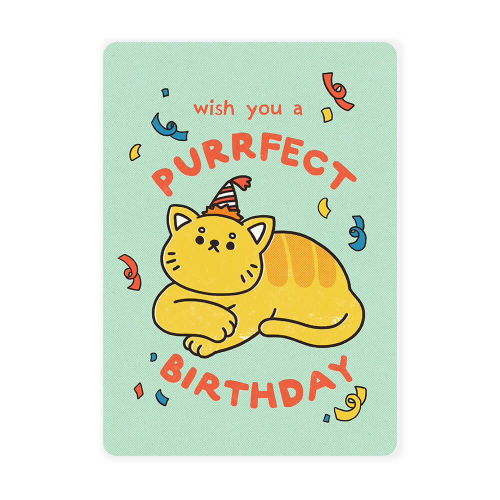 Malaysia Series Postcard: Wish You a Purrfect Birthday
