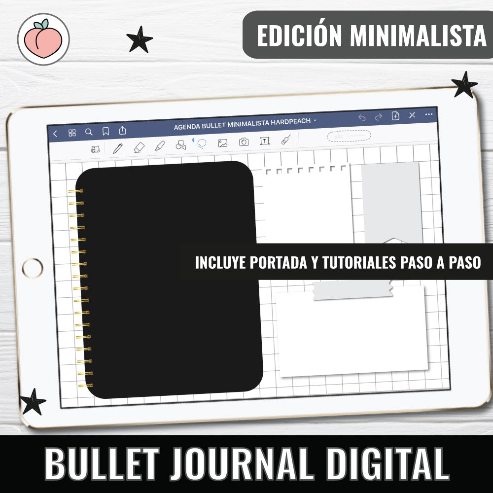 BULLET JOURNAL DIGITAL | EDICIÓN MINIMALISTA