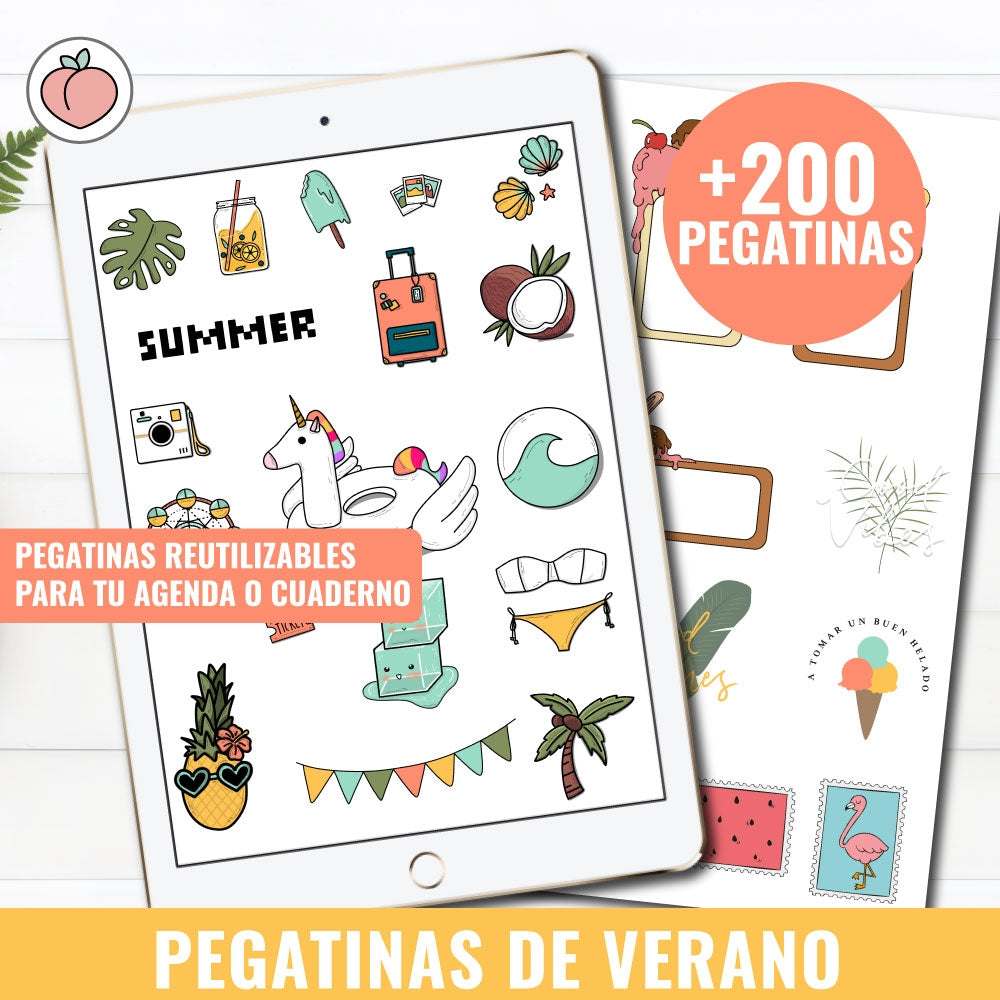 PEGATINAS ¡HELLO SUMMER!