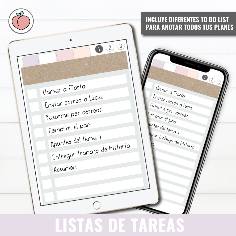 LISTAS DE TAREAS | TO DO LIST