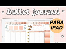 Cargar y reproducir el video en el visor de la galería, BULLET JOURNAL PEACH