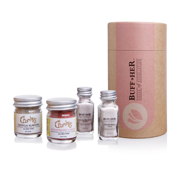 Create Your Own Organic Exfoliating Scrub Mini Kit