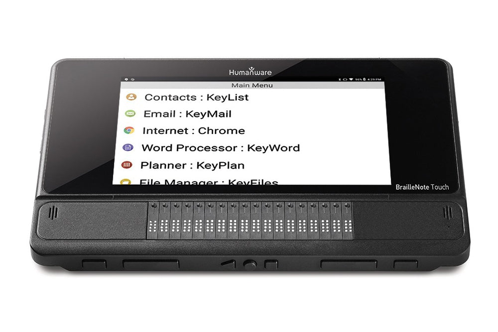 Humanware BrailleNote Touch 18 Plus – Braille note taker/tablet