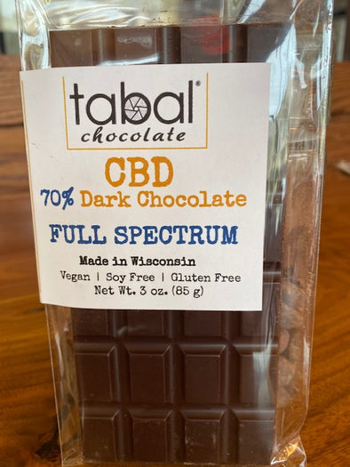 CBD Dark CHOCOLATE BAR 70%