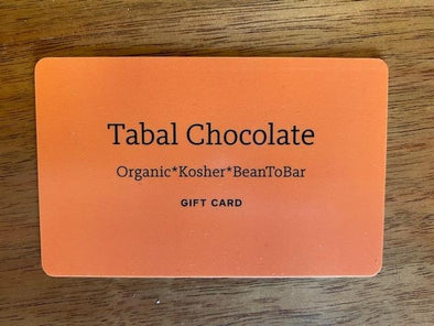GIFT CARD - Tabal Chocolate & Cacao Products