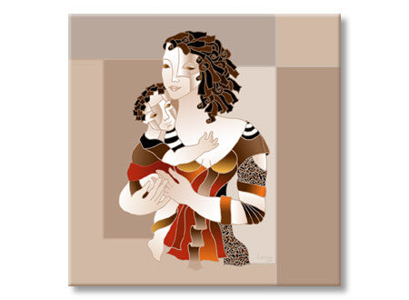 Eleonora Goretkin - Mother and Child V - All Rights Reserved
