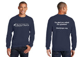18000-Heavy Blend Crewneck Sweatshirt-LIBERTY CHURCH