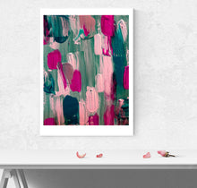 Load image into Gallery viewer, Umbrella Abstract Art Print (Unframed)