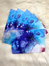 Load image into Gallery viewer, Fluid Art Thank You Postcards (8 pack)