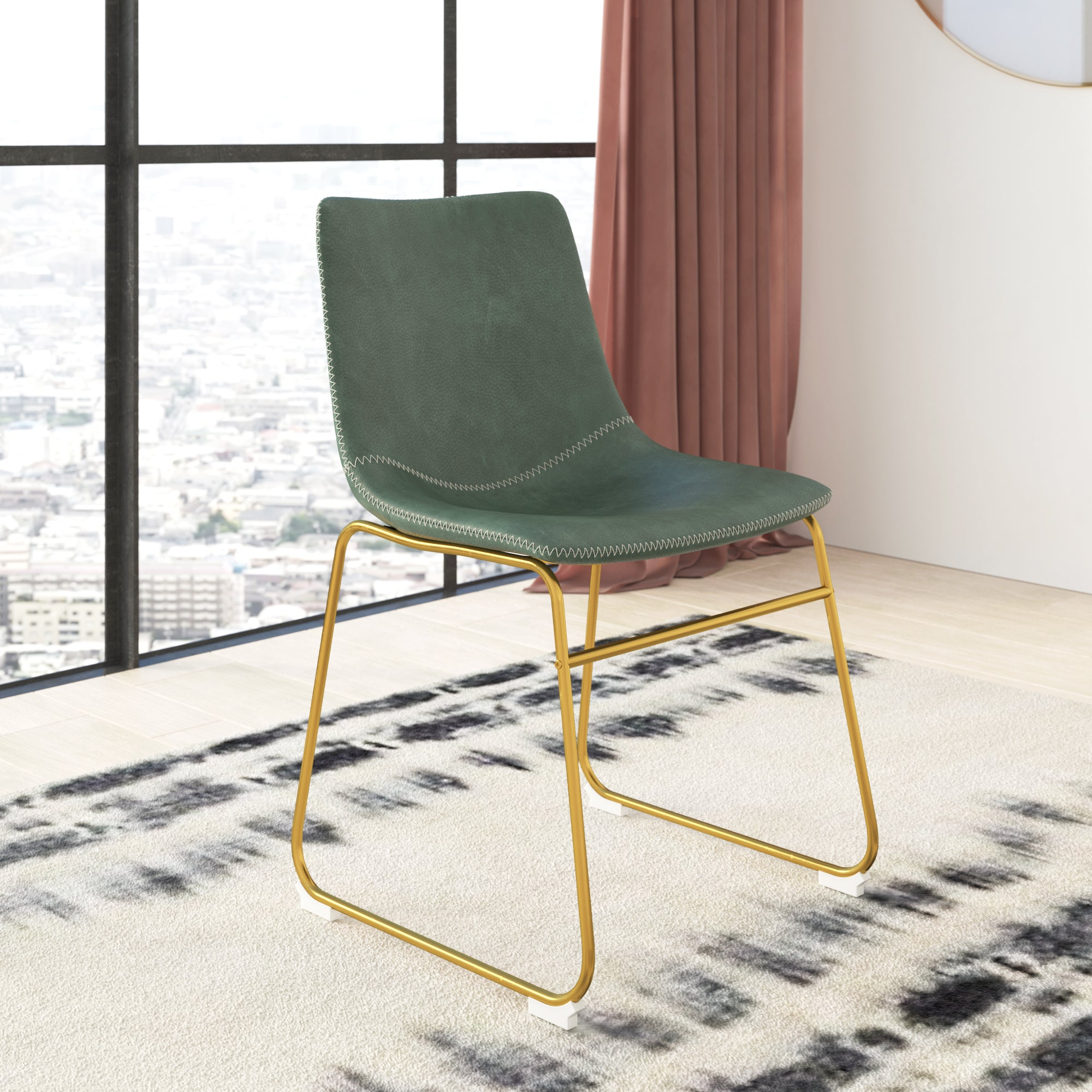 Petra Gold Dining Chair