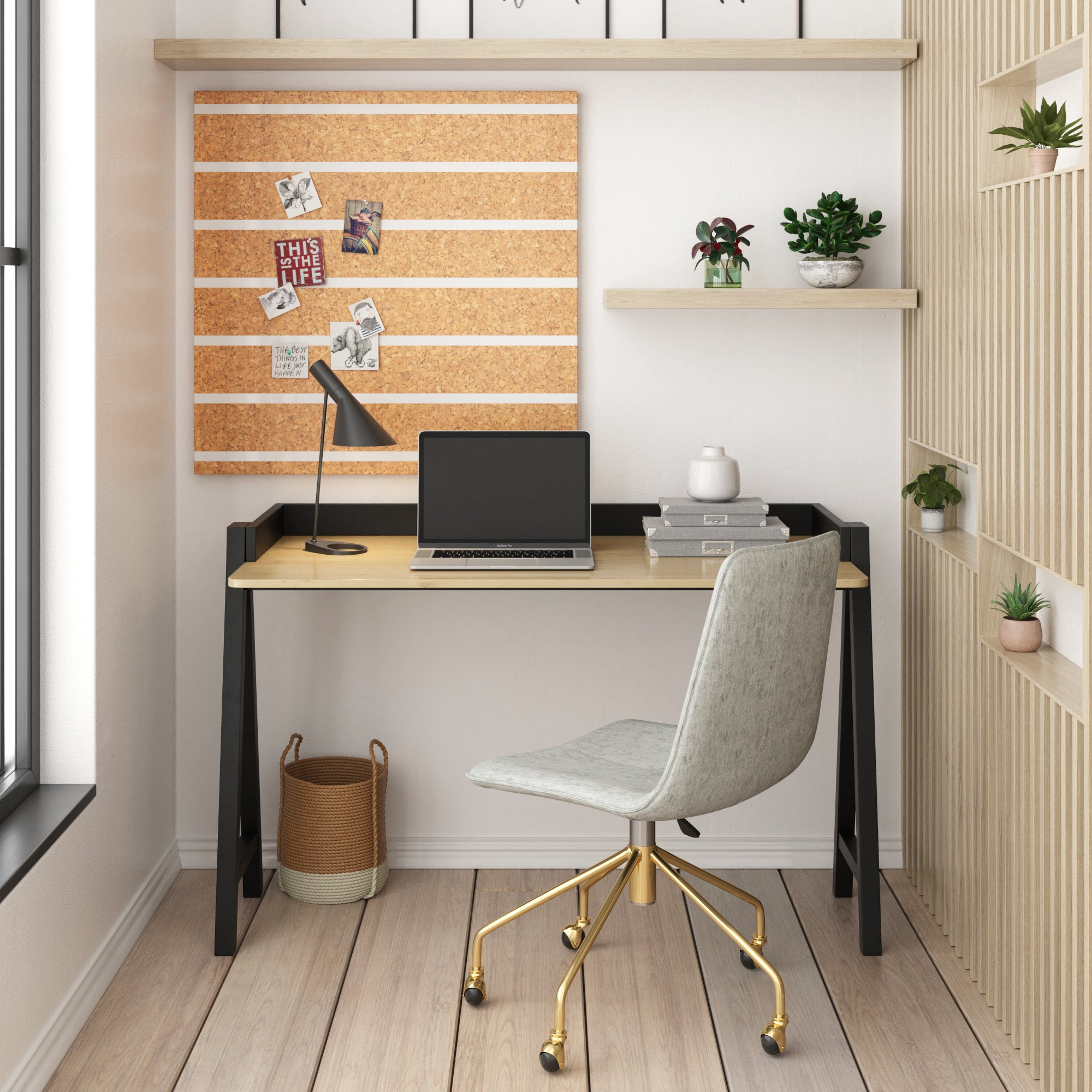Arco Gold Office Chair