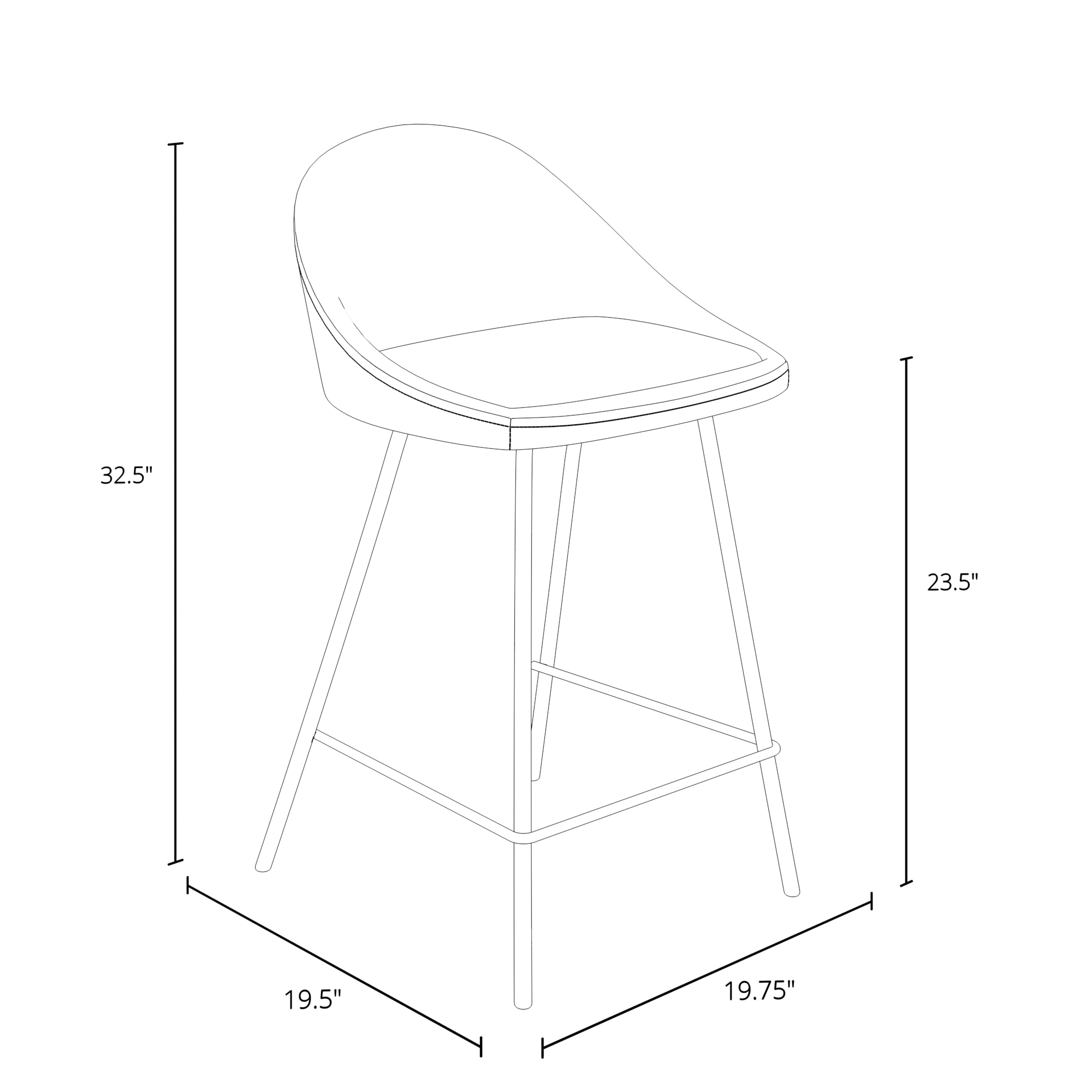 Marco Counter Stool