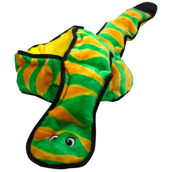 Invincibles Snake Green & Orange | 12 Squeaks