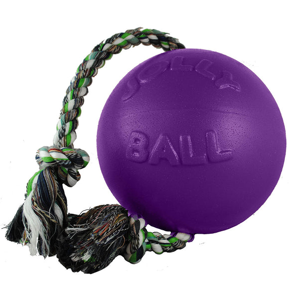 Jolly Romp N Roll Ball with Rope