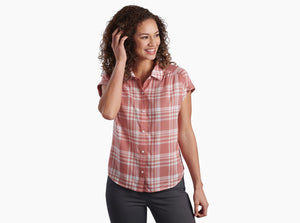 Kuhl's Eden Plaid SS Women's Shirts