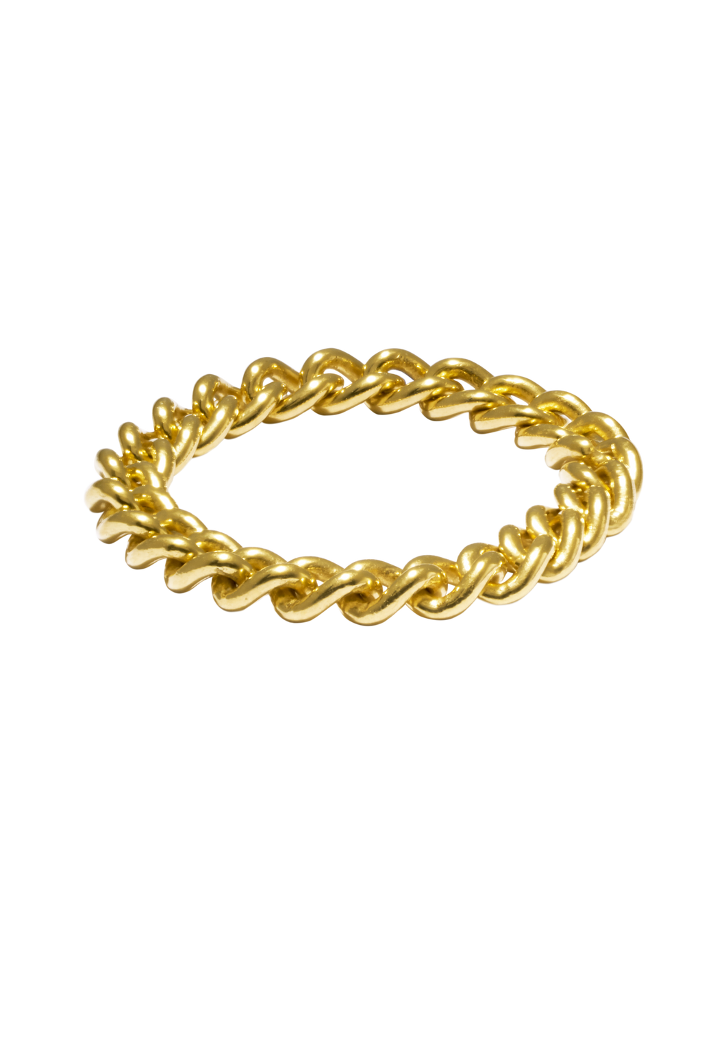 Cuban Ring Gold